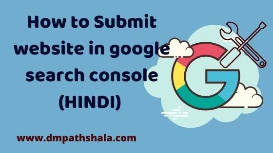 How to submit your website in Google Search Console (HINDI)
