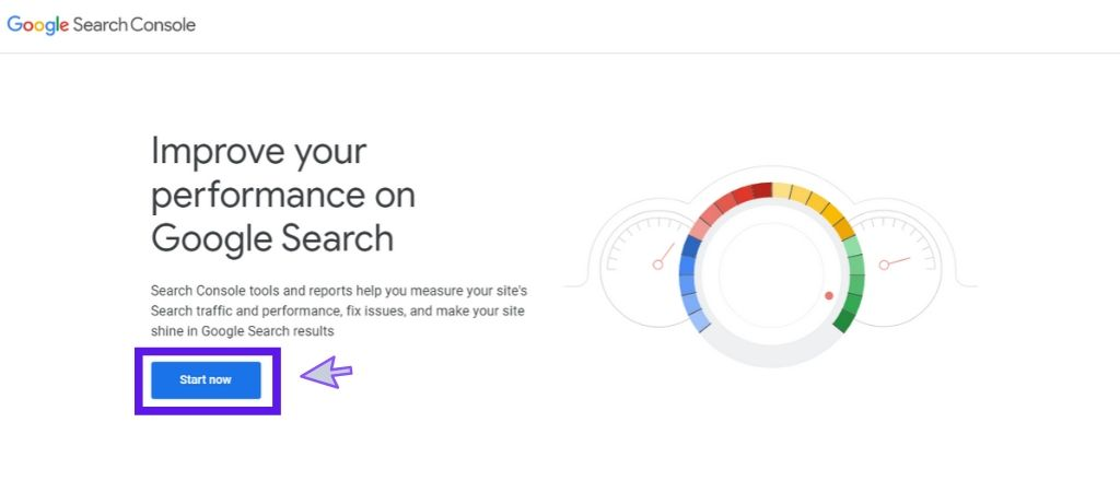 Google search console : submit website