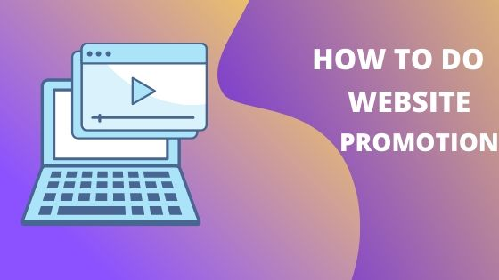 How to do website promotion